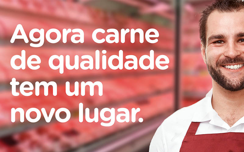 Lojão das Carnes Campanha Inauguração Cidade Verde