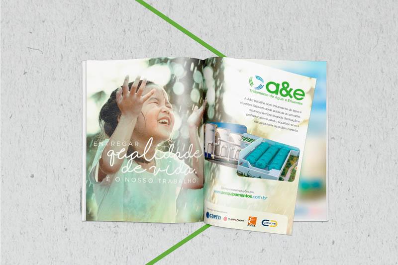 A&E Equipamentos Anúncio Revista