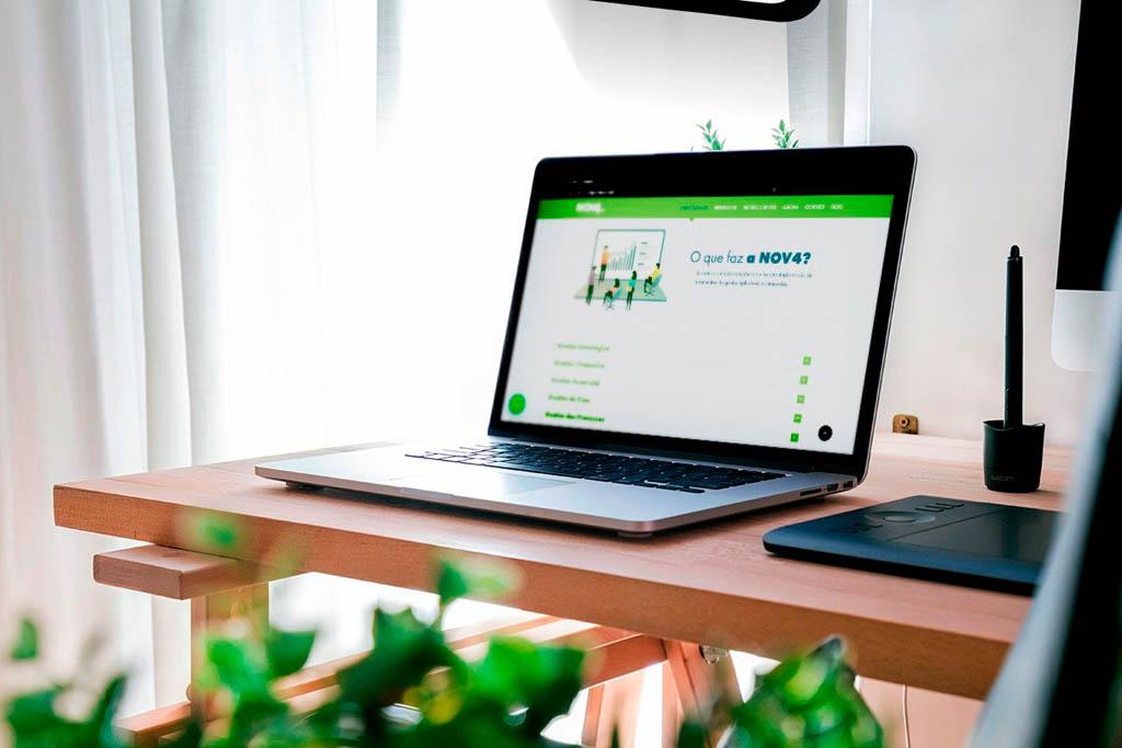 Nov4 Gestão Empresarial Website