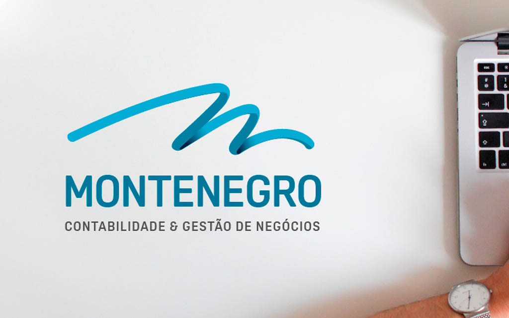 Montenegro Contabilidade Identidade Visual