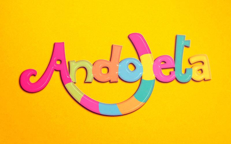Andoleta Brinquedoteca Identidade Visual