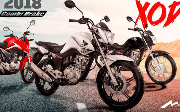 Mototec Honda Campanha CG 2018