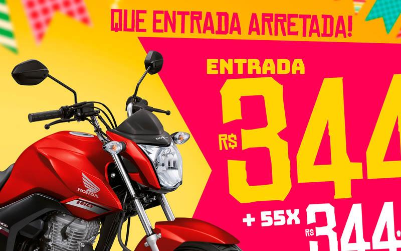 Mototec Honda Campanha Junho