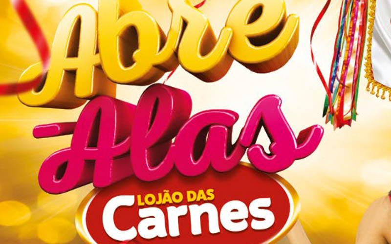 Lojão das Carnes Encarte Carnaval 2017