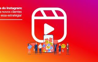 Ilustração de grupo de pessoas em frente ao celular, curtindo vídeos, feitos no Reels do Instagram.