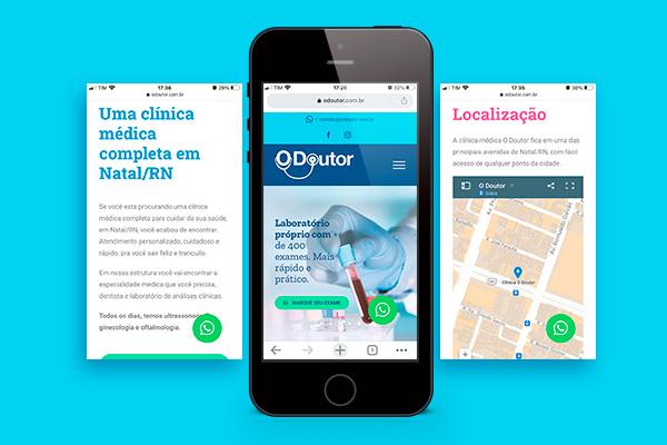 Clínica Médica O Doutor - Portfolio Macondo